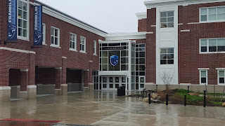 Community entrance to FHS