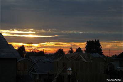 Morning sky, Ridgefield, WA