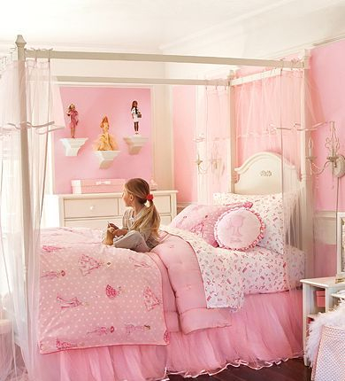 Habitaciones estilo princesa dormitorios con estilo - Habitaciones pequenas para ninas ...