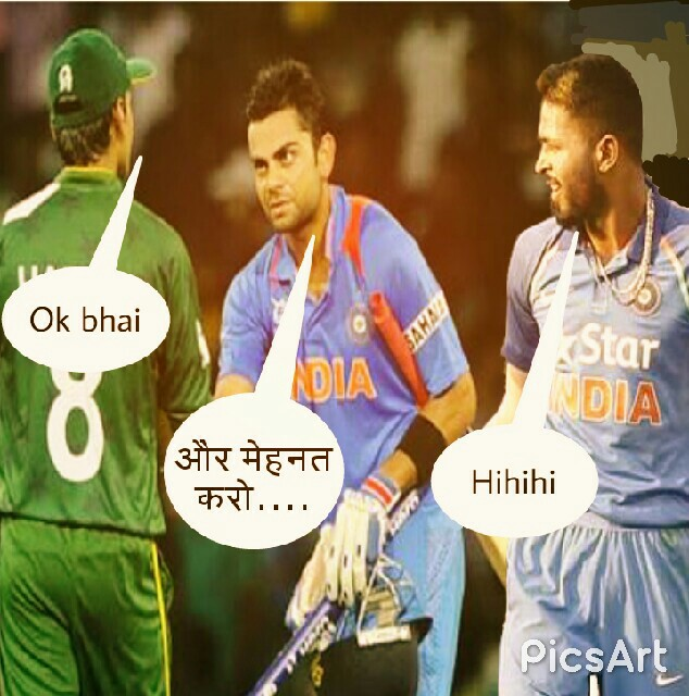 new jokes on india vs pakistan cricket match funny images