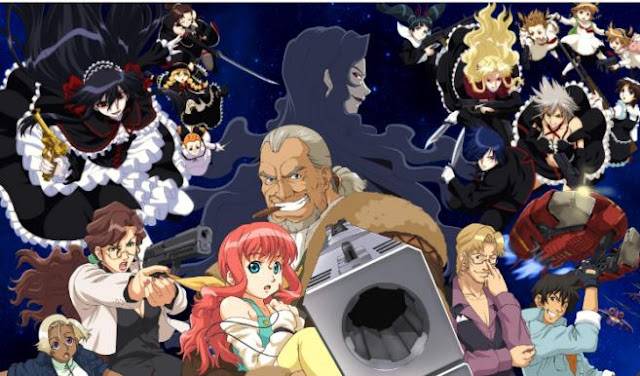 Coyote Ragtime Show - Top Ufotable Anime [Best List]