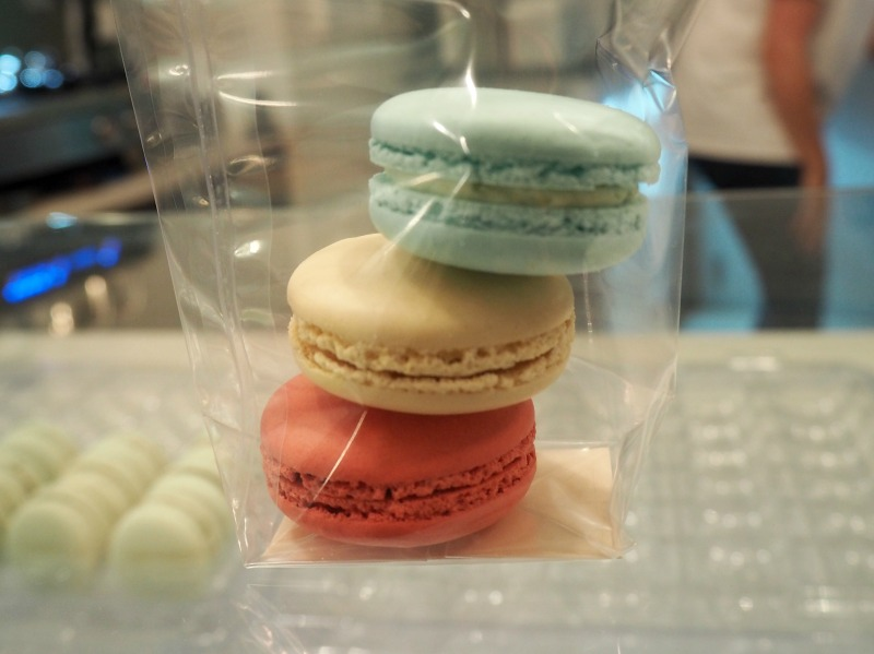Pastel macarons from Almondine Aberdeen