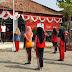 Kapolsek Tragah Tunjuk Bripka Aliem Latih Paskibraka Kecamatan Tragah