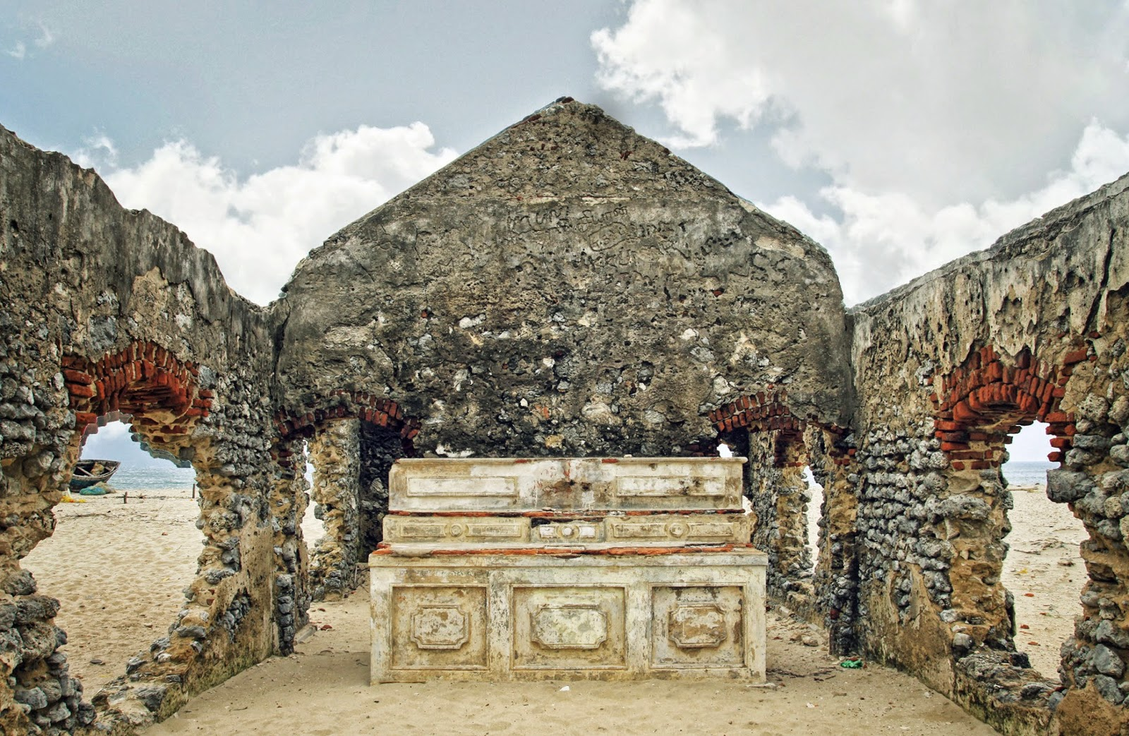 DHANUSHKODI Church Ruins