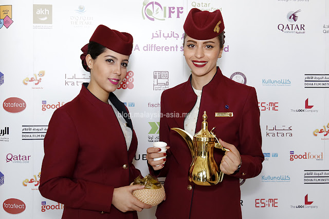 Qatar Stewardess Photos