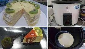 เผยวิธีทำเครปเค้ก จากหม้อหุงข้าว บอกเลยทำง่ายมากๆ