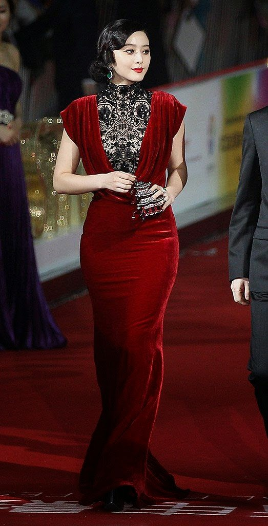 Fan Bingbing wearing