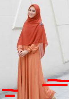 model jilbab syria