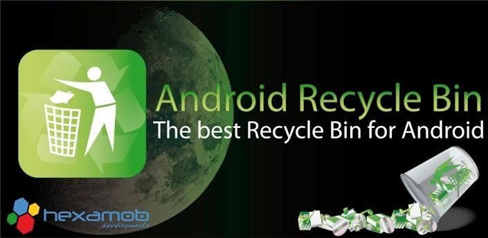 تحميل برنامج استعادة الملفات المحذوفة للاندرويد Android Recycle Bin