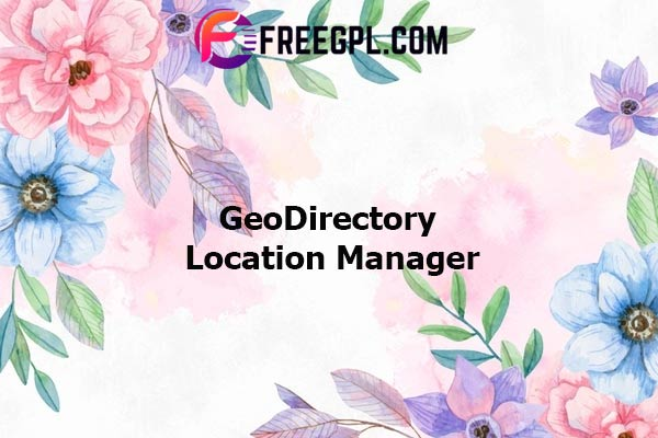 GeoDirectory Location Manager Add-on Nulled Download Free