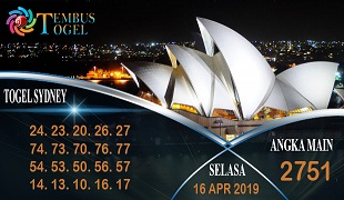Prediksi Angka Togel Sidney Selasa 16 April 2019