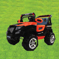 kiddo jp1 offroad rocking battery toy car