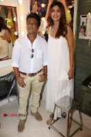 Bollywood Actress Shilpa Shetty Pos in White Gown at The Inauguration Of Shelar Make up Academy  0007.jpg
