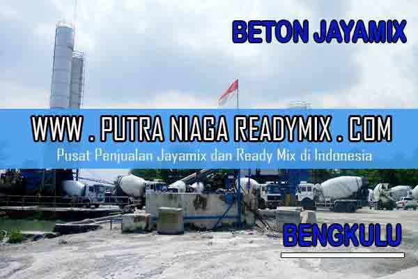 Harga Beton Jayamix Bengkulu
