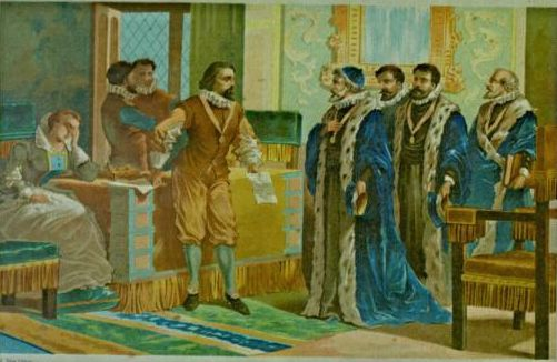Francis Bacon and the members of the Parliament