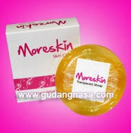 Moreskin Transparant Whitening Soap