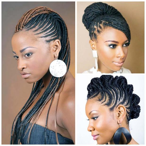 plaited hair styles unique 2016