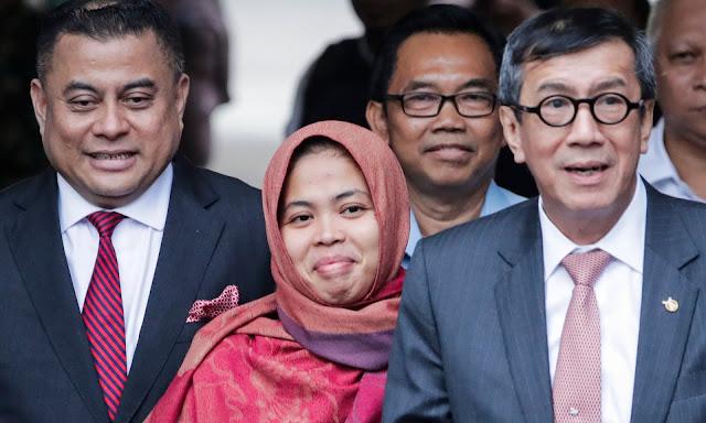 TKN: Tidak Mungkin Siti Aisyah Hadapi Proses Hukum Tanpa Pemerintah