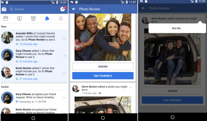 Facebook to Use Face Recognition Technology to Detects Users Uploaded Photos