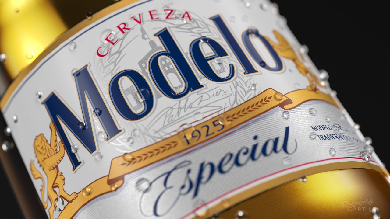 Modelo Redesign On Packaging Of The World Creative