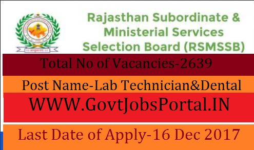 Subordinate & Ministerial Services Selection Board