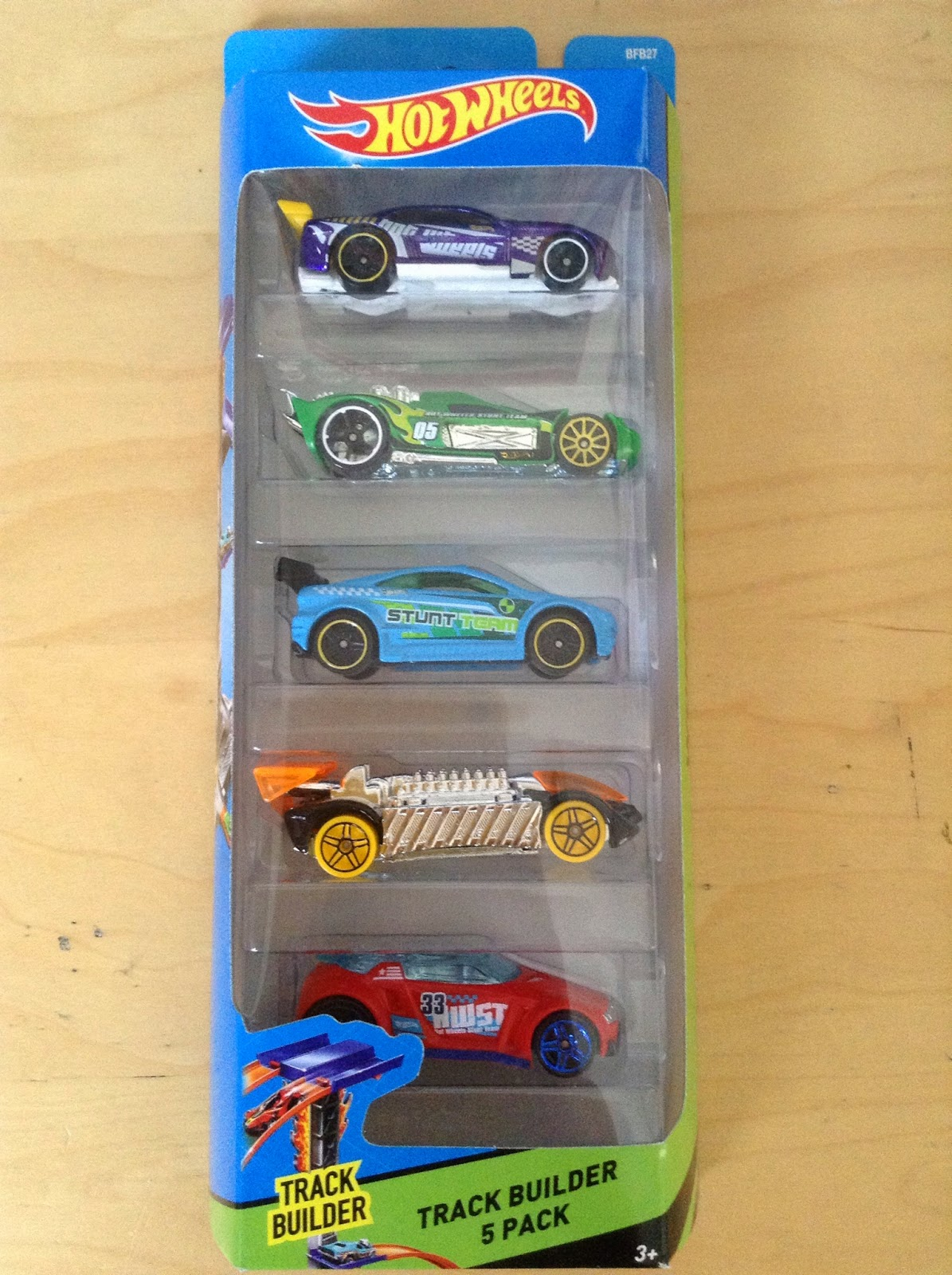 Julian S Hot Wheels Blog Track Builder 5 Pack