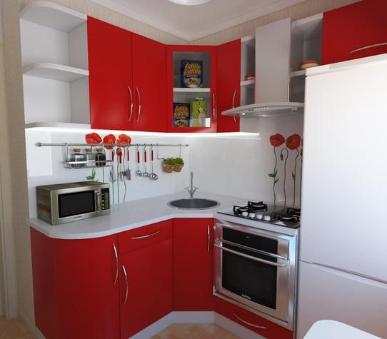 27 Space Saving Design Ideas For Small Kitchens: 25 Best Small Kitchen Space-Saving Solutions Designs Ideas