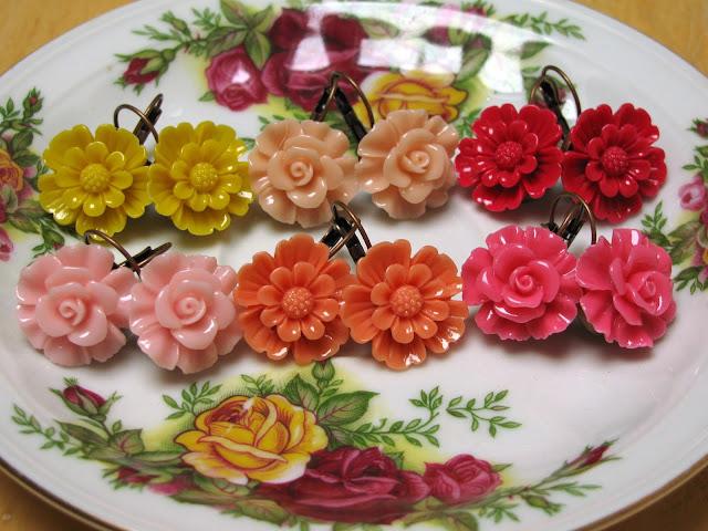 Spring Flower oorbellen