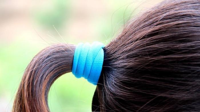 Image result for Hindari Menguncir Rambut Terlalu Kencang