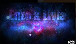 texto gif animado galaxia em movimento
