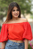 Rhea Chakraborty in Red Crop Top and Denim Shorts Spicy Pics ~  Exclusive 252.JPG