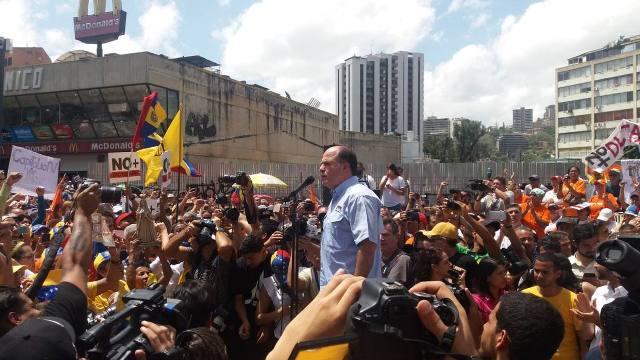 Julio Borges: TSJ dio un golpe de Estado que no puede corregir