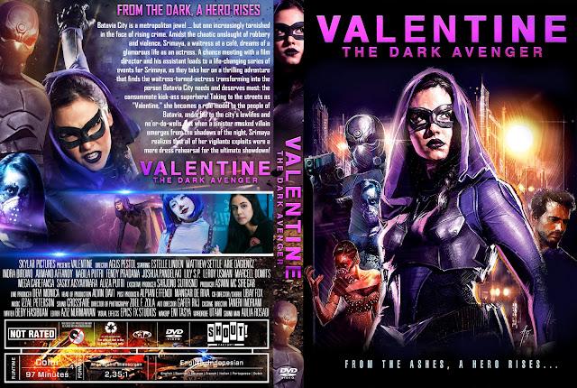 Valentine: The Dark Avenger DVD Cover