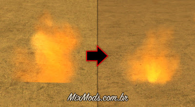 gta sa san mod enb series soft particles fire fix