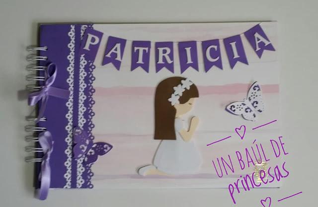 Libro de firmas de Patricia