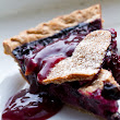 Beautiful Blueberry Pie