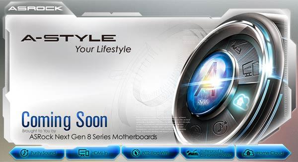 ASRock A-Style,Motherboard,Intel,Mobo tahan air