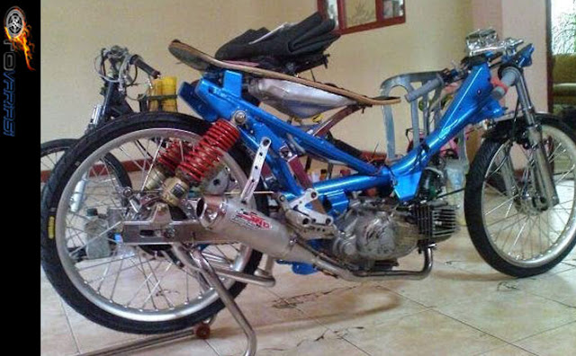 modifikasi motor jupiter z gaya drag