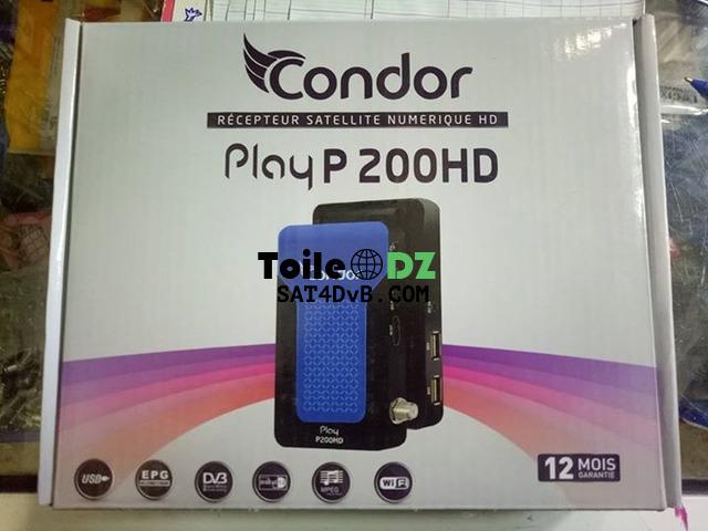 mise à jour condor play p200 hd