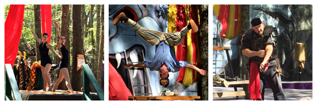 Daniel Duke of Danger Acrobatics Torture Show Draiku Aerial Performers at King Richard's Faire Carver MA_New England Fall Events