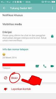 cara menyembunyikan kontak wa teman dari daftar kontak whatsapp
