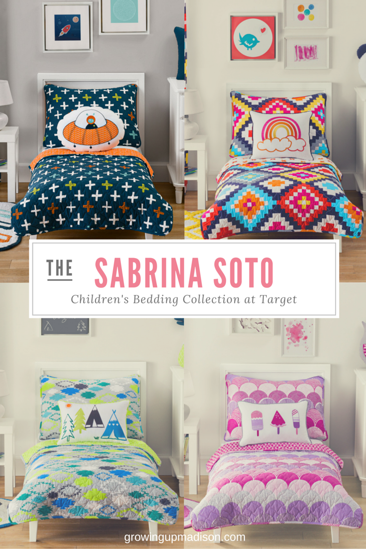 sabrina soto bedding collection at target