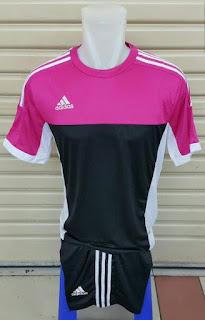 Jersey setelan futsal Adidas warna pink terbaru 2015