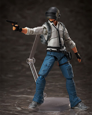 "Figuras: Imágenes y detalles del FIGMA The Lone Survivor de ""PLAYERUNKNOWN'S BATTLEGROUNDS"" - Good Smile Company"