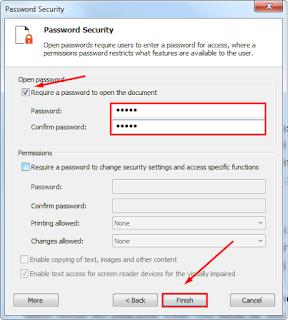 Cara Mudah Memberikan Password Pada File PDF