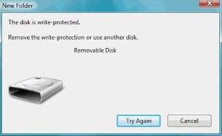 Tips dan Cara Memperbaiki Flashdisk Write Protected