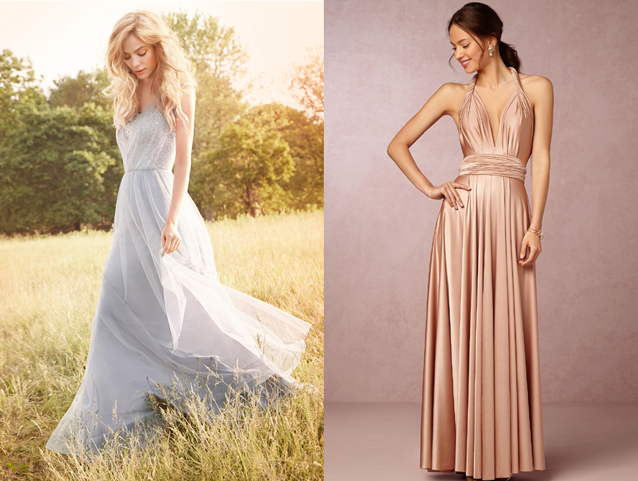 discount designer bridesmaid dresses