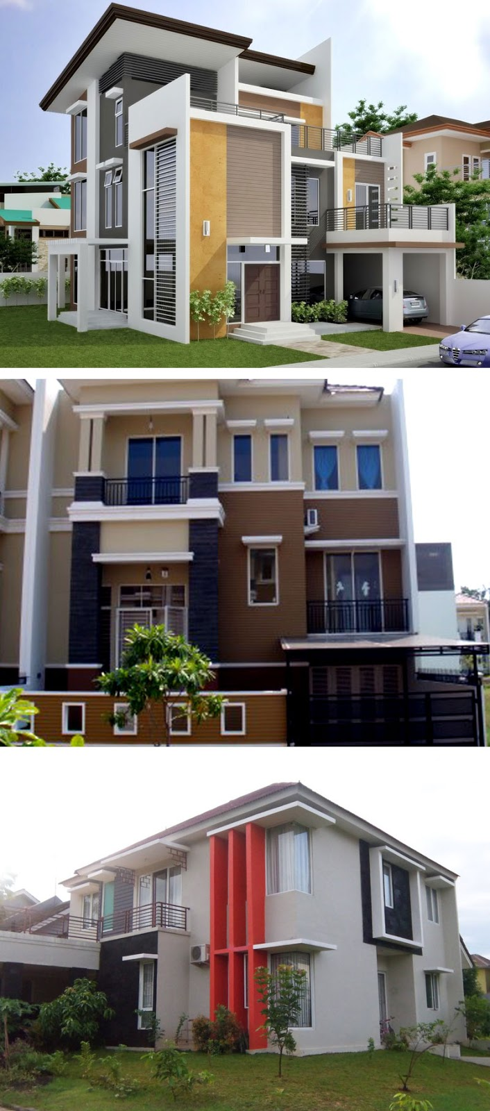 model rumah minimalis sederhana idaman 2 lantai