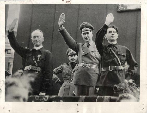 4 September 1940 worldwartwo.filminspector.com Ion Antonescu Wilhelm Fabricius, Horia Sima,