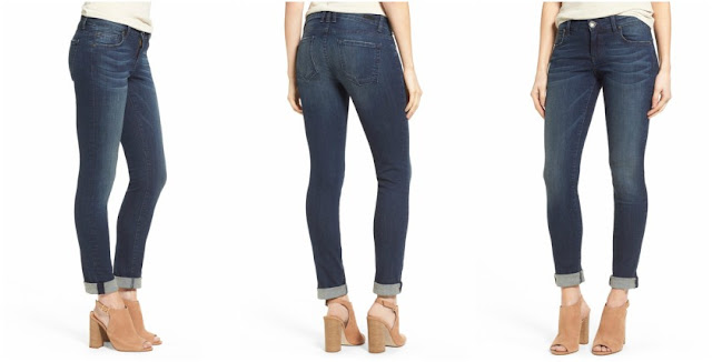 Kut from the Kloth Catherine Slim Boyfriend Jeans $45 (reg $90)